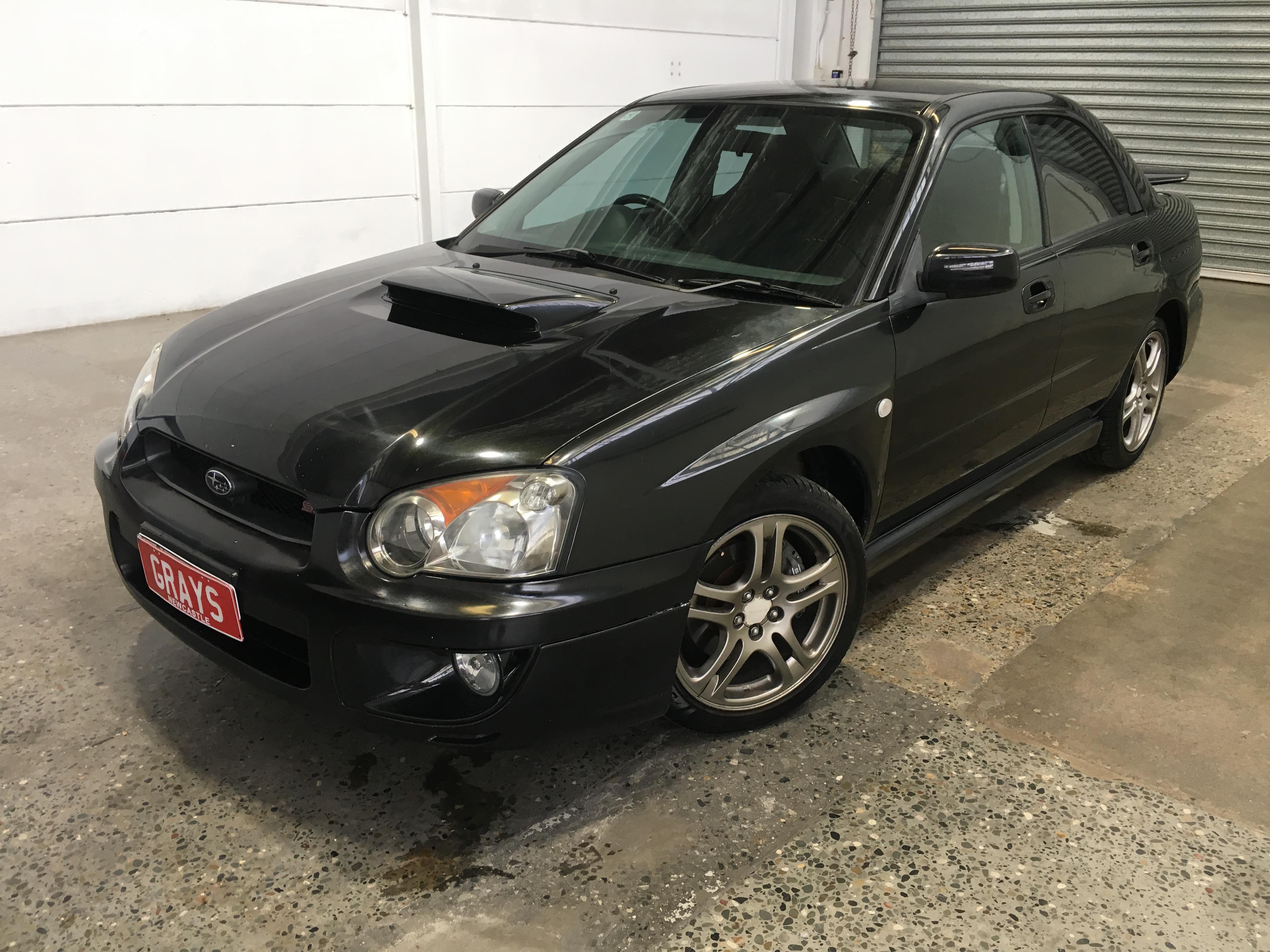 2004 Subaru Impreza WRX (AWD) G2 Manual Sedan