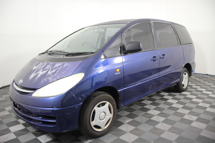 2002 Toyota Tarago GLI ACR30R Automatic 8 Seats People Mover