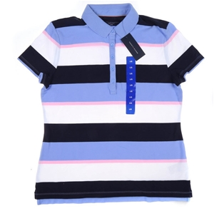 TOMMY HILFIGER Women`s Cotton Polo Shirt
