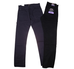 2 x SIGNATURE Men`s 5-Pocket Cotton Pant