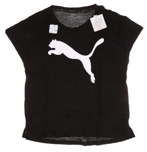 2 x Women`s PUMA Cat Logo Active T-Shirt