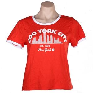 2 x Women`s ZOO YORK City Crew T-Shirts,