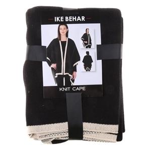 IKE BEHAR Knit Cape, 60% Cotton & 40% Ac