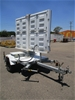 11/2014 Ventech Engineering 1400kg Electronic Sign Trailer