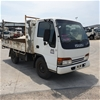 2002 Isuzu NKR500 Tray Body Truck