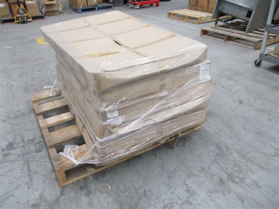 Pallet of 5 Fridge Well Shelves