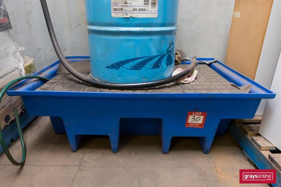 Blue Poly Spill Bunk