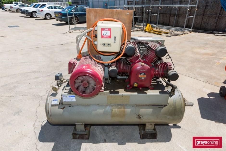Swan, SWU-415, Electric 4 Cylinder Air Compressor