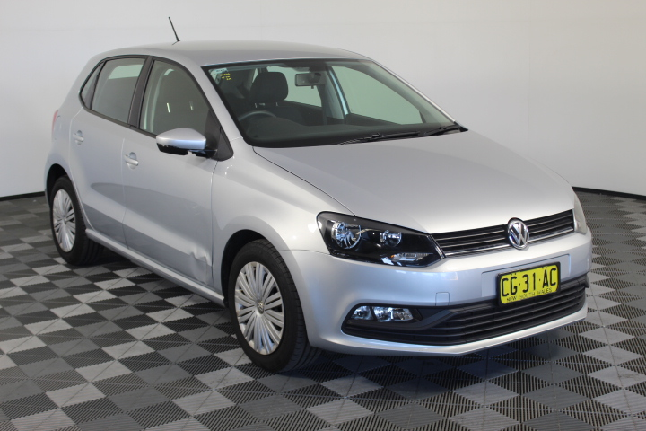 2015 Volkswagen Polo 66TSI TRENDLINE 6R Automatic Hatchback 29,174km (WOVR)
