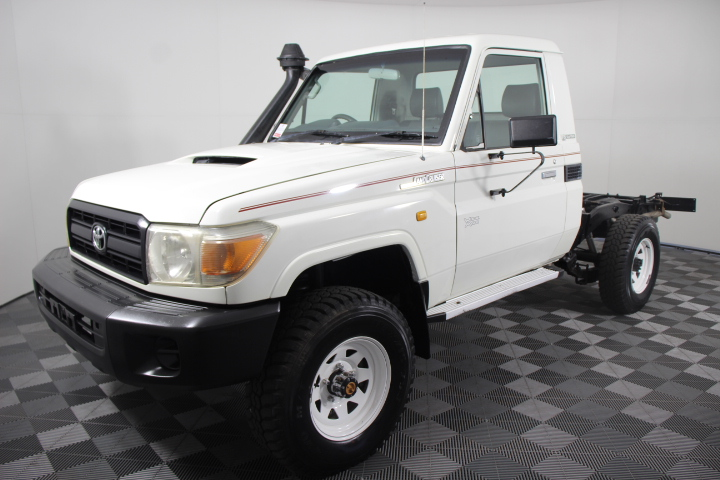 2011 Toyota Landcruiser Workmate (4x4) VDJ79R Turbo Diesel Cab Chassis