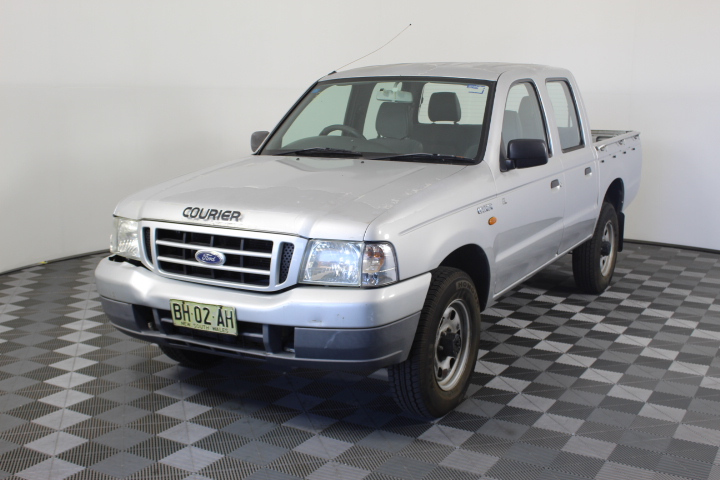 2003 Ford Courier GL (4x4) PG Turbo Diesel Manual Dual Cab
