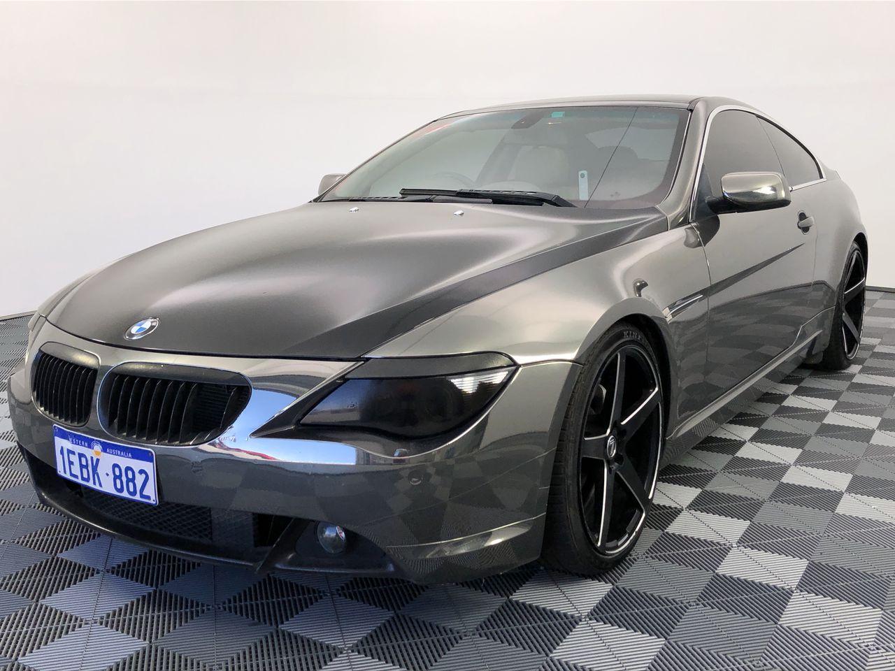 2004 BMW 6 Series 645Ci E63 Automatic Coupe