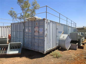 Containerised Power Generation Unit - 5 x 88kw
