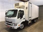 2014 Hino 300 Series 616 Short 4 x 2 Refrigerated Body Truck