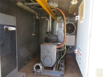 8 x 130kw 20' Containerised Power Generation Units