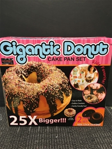 Gigantic DONUT Cake Pan Set