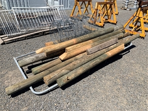 Assorted Gate Posts and Gate