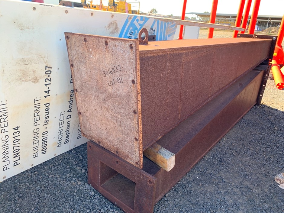 Heavy Fabricated Counter lever Beams