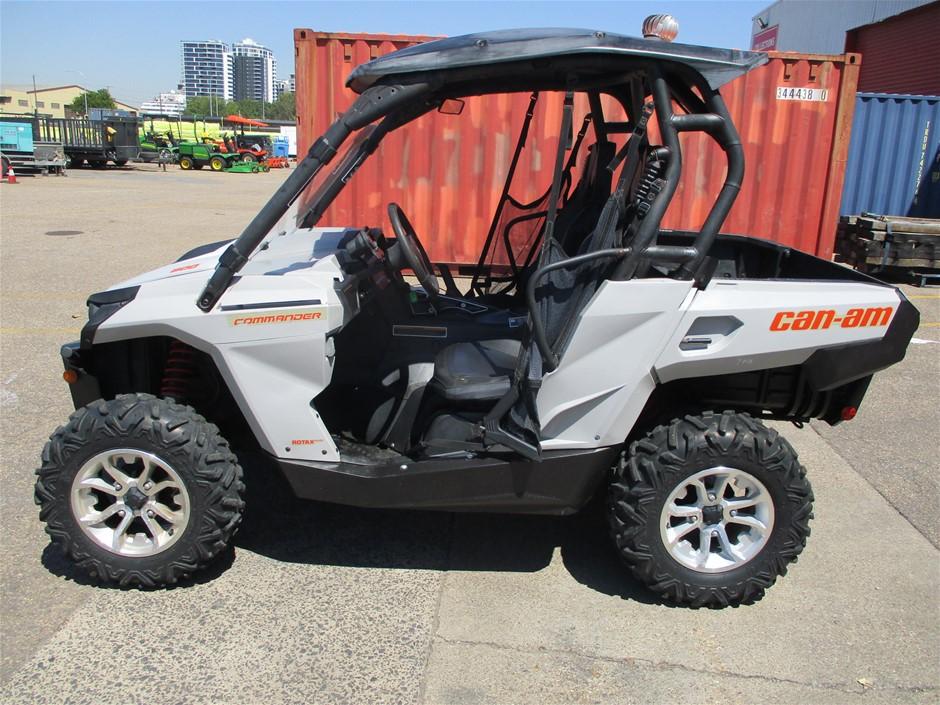 2015 Can-Am STGD 800 Commander ATV