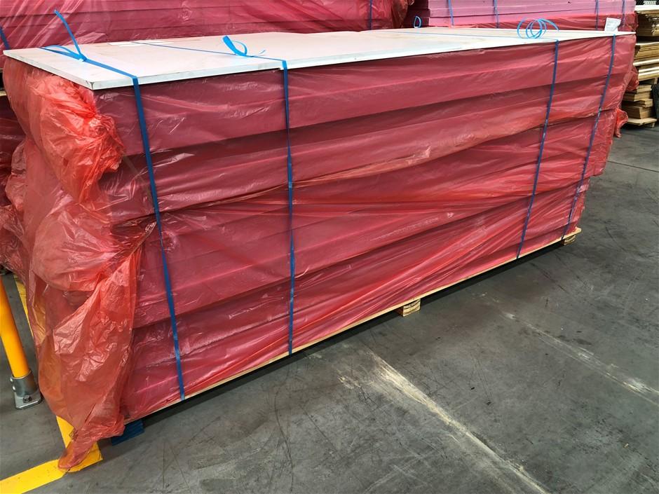 New XPS Hi Density foam boards, 2300 x 1220, 12 sheets of 80mm