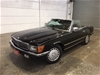 1981 Mercedes Benz 500SL R107 RWD Automatic Coupe