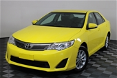 Unreserved 2013 Toyota Camry Altise ASV50R Automatic Sedan