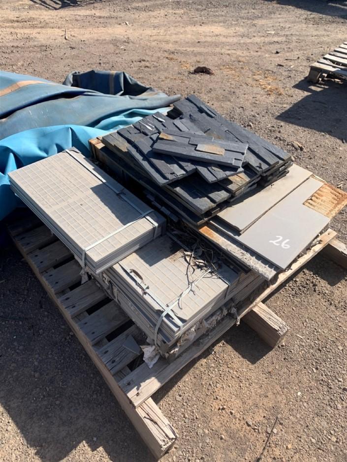 Pallet of Assorted Tiles