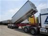 2012 Stoodley ST3325 Triaxle Grain Tipper Lead Trailer