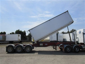 2013 Stoodley ST3325 Triaxle Grain Tipper Lead Trailer
