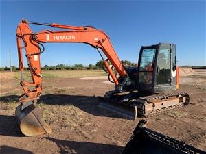 Hitachi ZX 85usb -3 Tracked Excavator