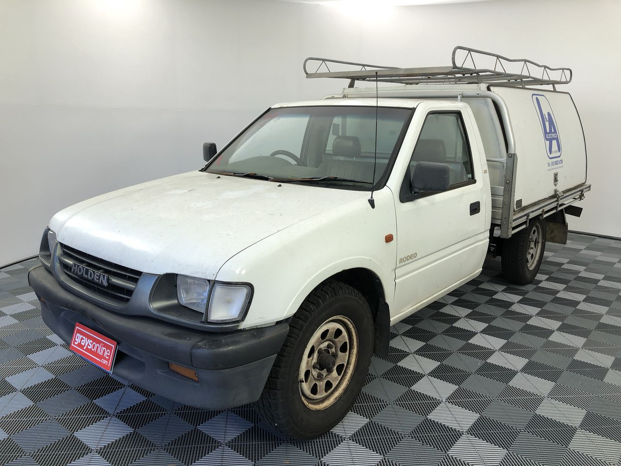 2000 Holden Rodeo DX R9 Manual Cab Chassis