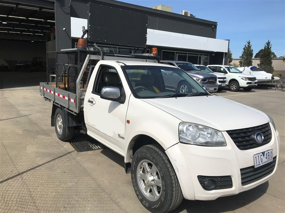 2012 Great Wall V240 2WD Ute, 2 Seater
