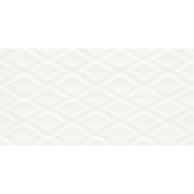 Ceramica Portinari Charm Kiss White 29.5x59.5cm Matte Ceramic Tiles, 8.16m²
