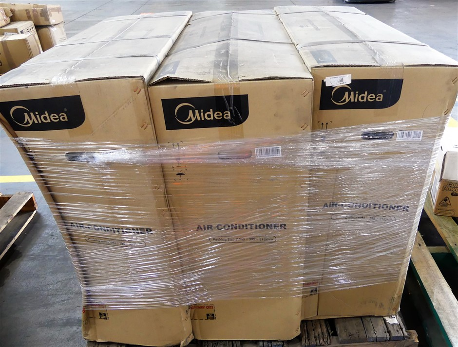 Pallet of 3 x assorted faulty air conditioners