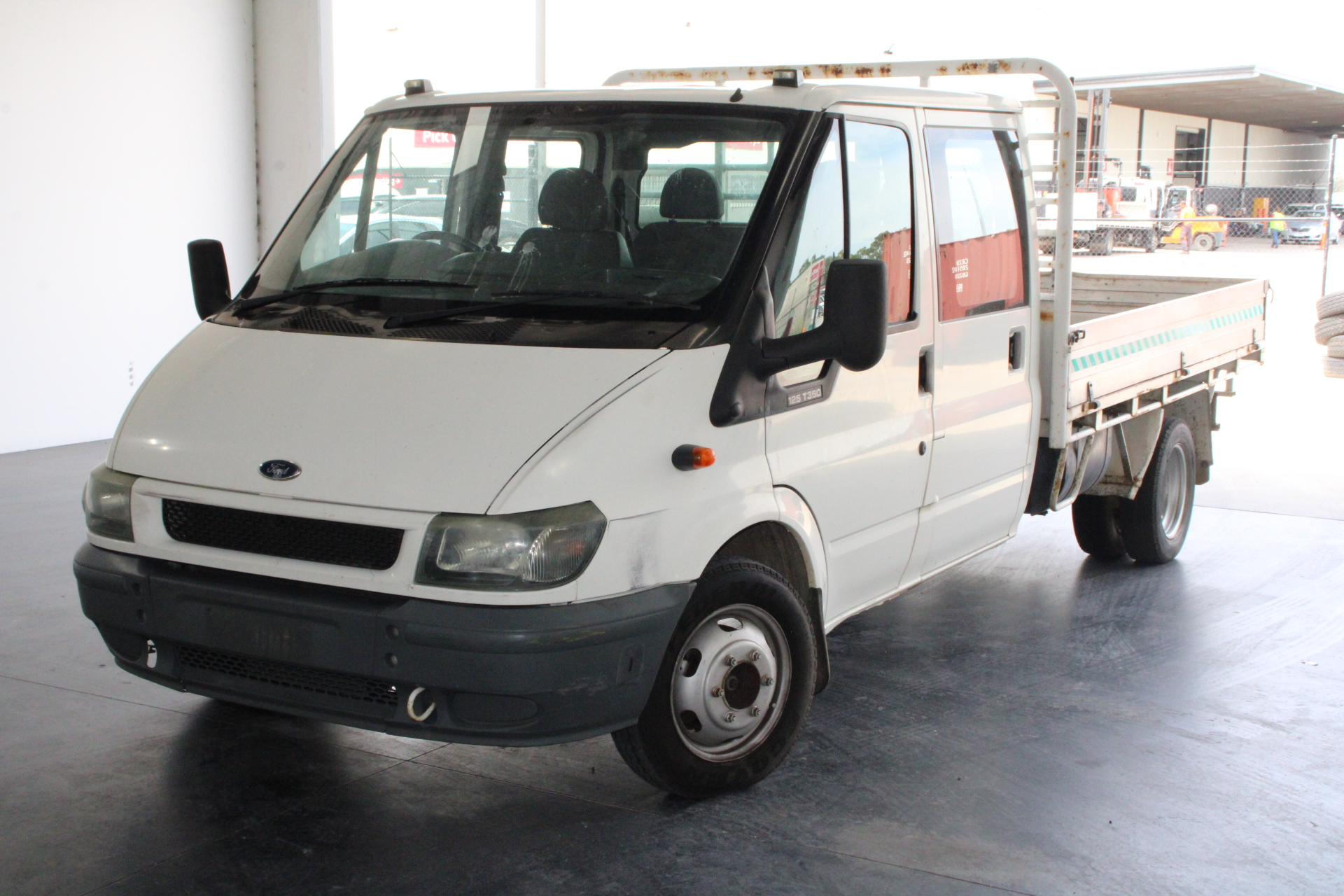 2002 Ford Transit VH Turbo Diesel Manual Cab Chassis