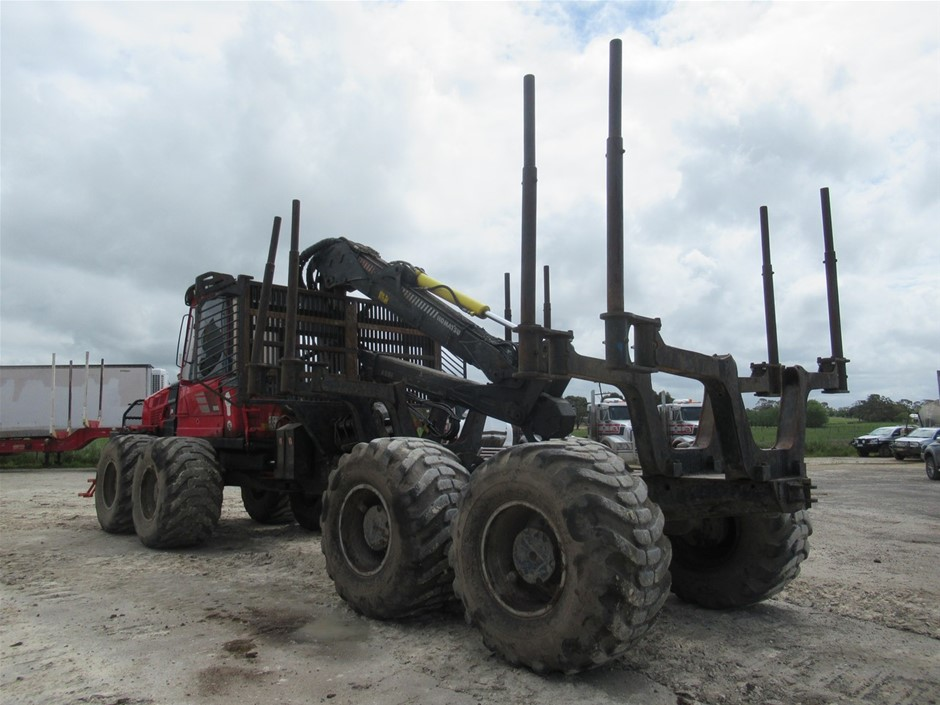 2014 Komatsu 895 Forwarder(Mt Gambier, SA)