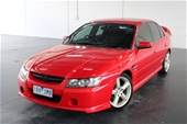 Unreserved 2002 Holden Commodore SV8 Y Series Manual Sedan