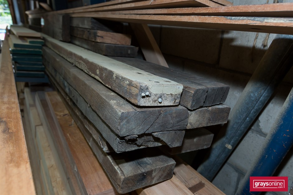 Pack of Assorted Recycled & Dress Timber Hard Wood