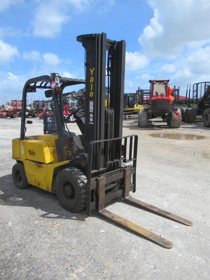 Yale GDP050RCJUAE100 4 Wheel Counterbalance Forklift(Mt Gambier, SA)