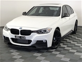 Unreserved 2013 BMW 3 35i F30 Automatic - 8 Speed Sedan