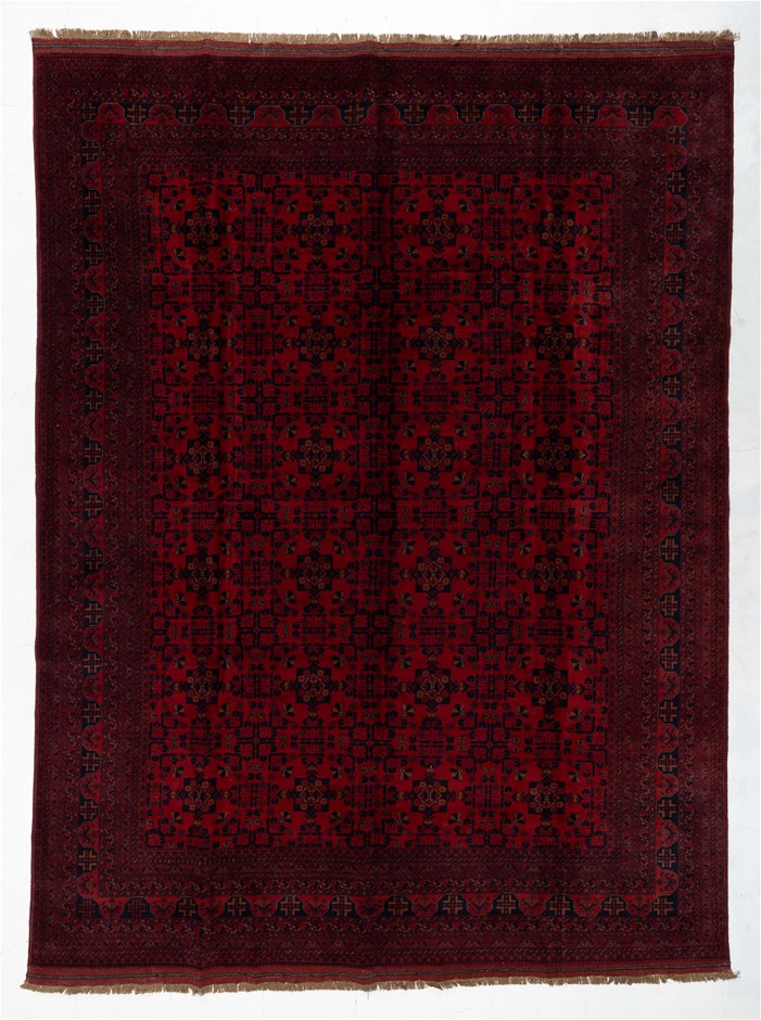Afghan Khal Mohomadi Tribal Hand Knotted Pure Wool Size (cm): 320 x 410
