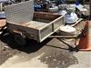 Single Axle Trailer with Drop Down Aluminium Ramp