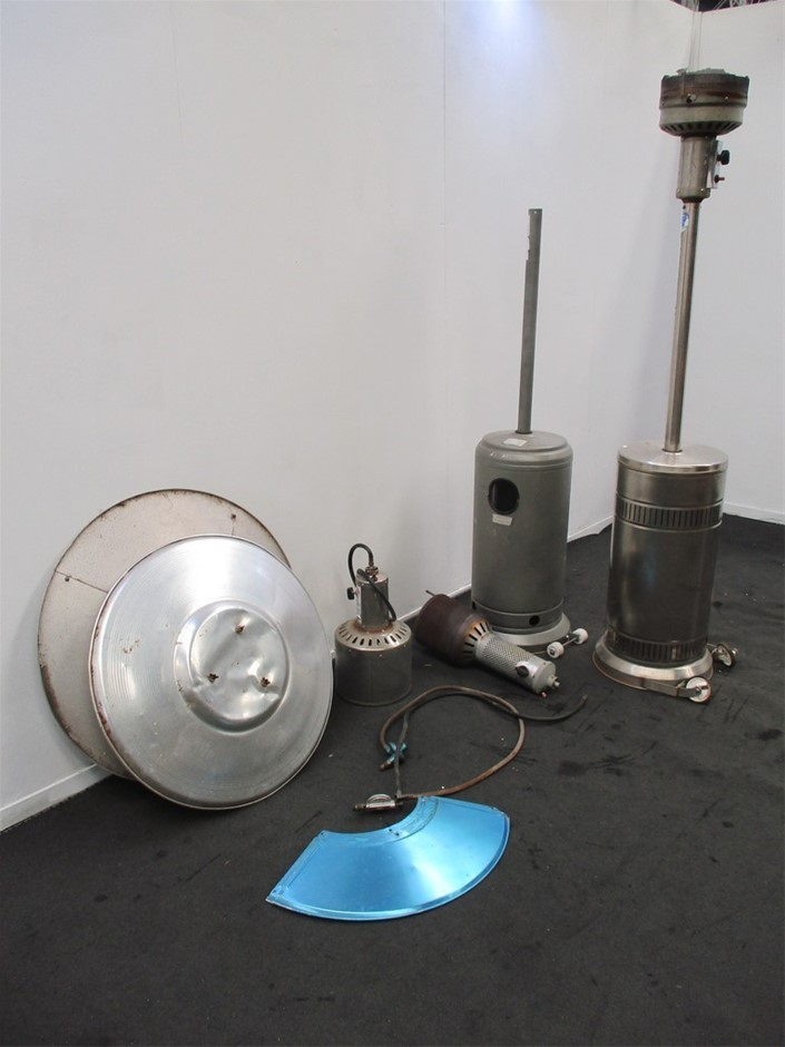 Pallet of Patio Heater Parts