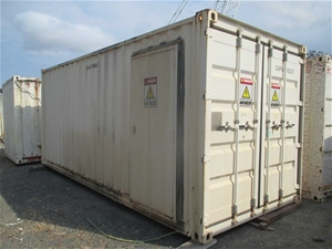 20FT Container with Switch Board