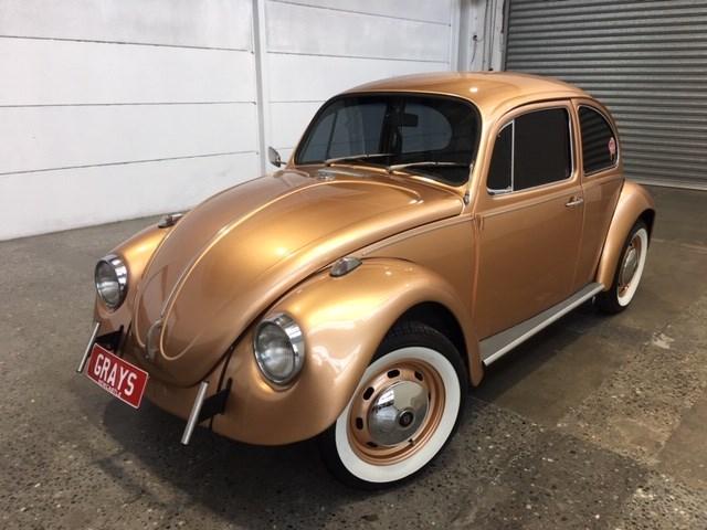 1970 Volkswagen Beetle Manual Sedan