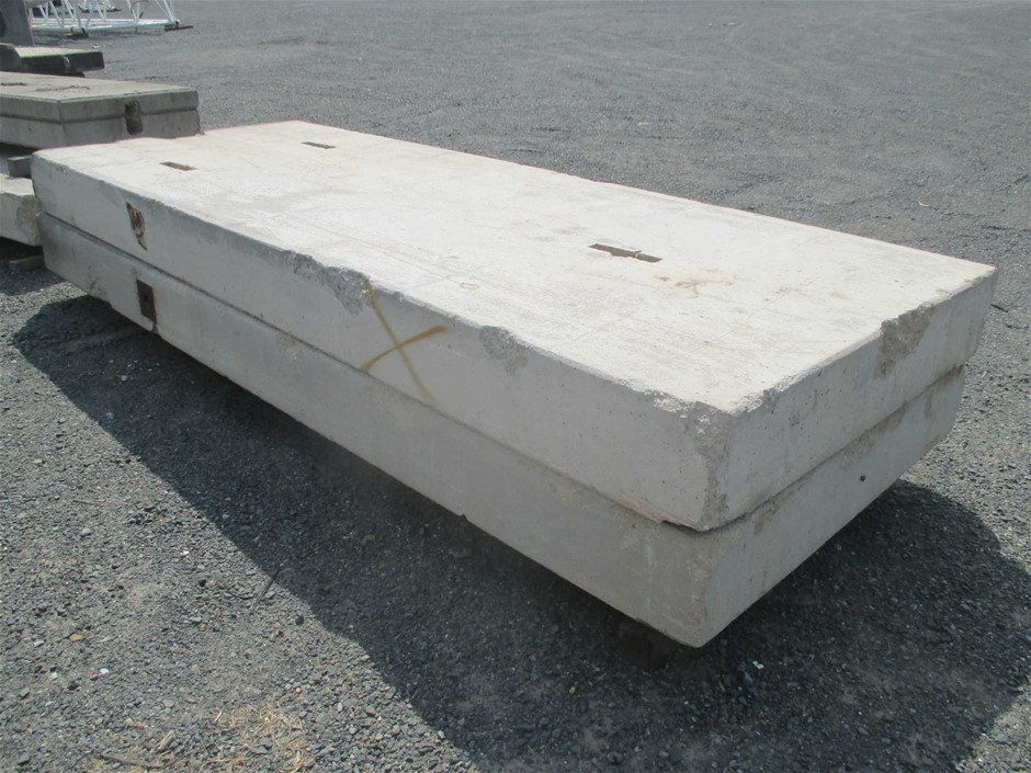 Qty 2 x Concrete Block / Counter Weight
