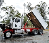 Western Star, Isuzu Trucks & Collapsbile Skip Bins
