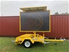 New 2020 Variable Message Sign (VMS) Sign Trailer