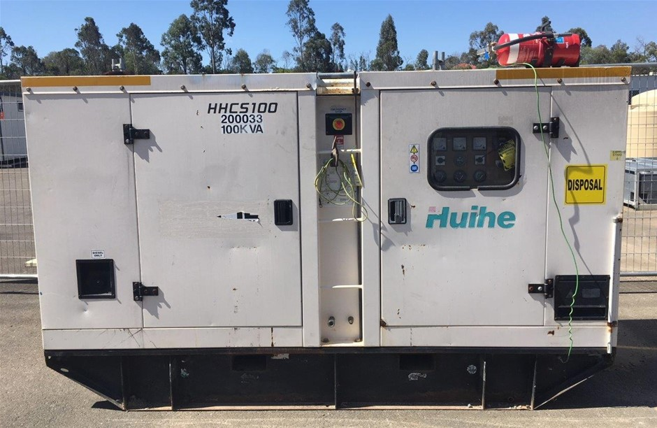 2011 100kVA Diesel Generator - Brisbane