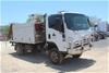 2008 Isuzu NPS 4x4 Service Truck with Crane